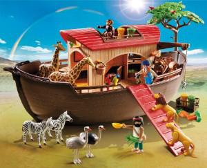 Playmobil 5276 - Arche de Noé avec animaux de la savane