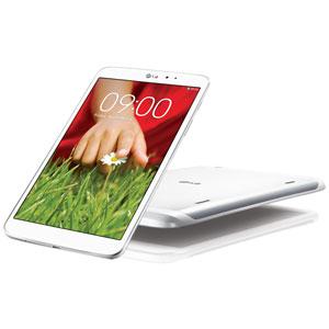"""Tablette blanche LG Gpad 8.3""""  + Carte Mémoire Micro SDHC Sandisk 16 Go"""