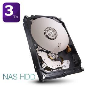 """Disque dur interne Seagate NAS 3To 64Mo 3.5"""""""