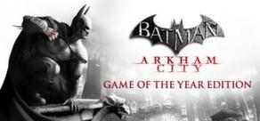 Promotions sur les jeux PC Batman Arkham (Dématérialisé) - Ex: Batman Arkham Asylum GOTY