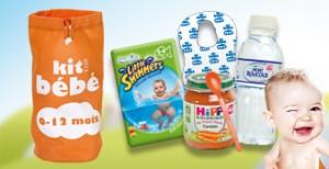 Kit Bébé offert par Total