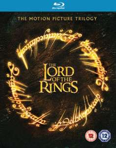 la trilogie seigneur des anneaux en Blu-ray (Seulement en anglais)