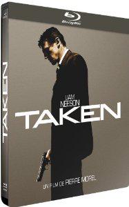Taken en Blu-ray - Steelbook