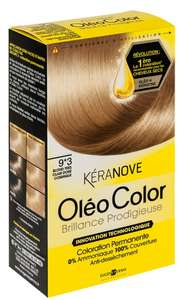Coloration Kéranove Oléo Color  gratuit (50% sur la carte + optimisation)