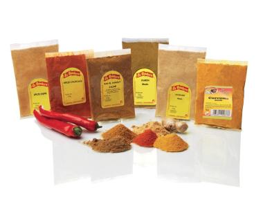 2 Epices orientales  au choix (épices tajine ou couscous, Ras el Hanout, cumin, gingembre et curcuma moulu)