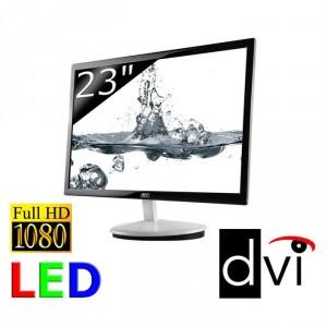 """Ecran PC LED 23"""" AOC E2343F Full HD"""