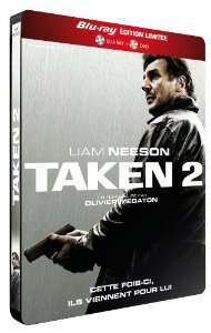 Combo DVD + Blu-ray Taken 2 Edition limitée boîtier métal