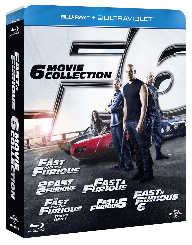 Blu-ray Fast & Furious 1 à 6