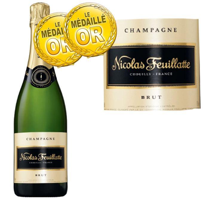 Champagne brut Nicolas Feuillatte - 75cl