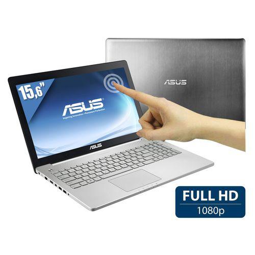 PC Portable Tactile 15,6'' Asus N550JK-CM141H Full HD - Gris
