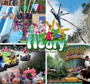 """Entrée gratuite au parc """"Le Fleury"""" (au lieu de 12.50€)"""