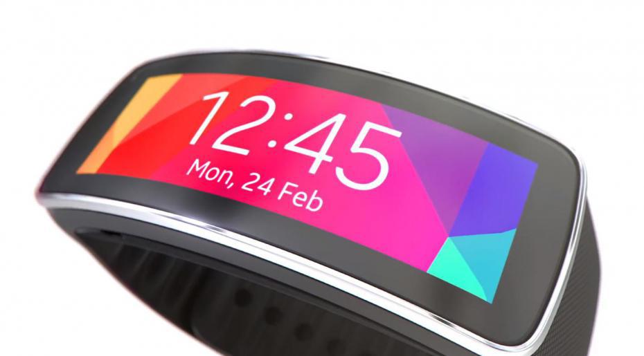 Bracelet connecté Samsung Gear Fit - Noir (avec ODR 100€)