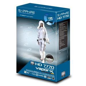 Carte graphique Sapphire AMD Radeon HD7770 1Go GDDR5 VaporX