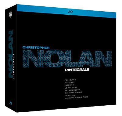 Coffret Blu-Ray Christopher Nolan L'intégrale (8 films) + 20€ crédités sur le compte des adhérents