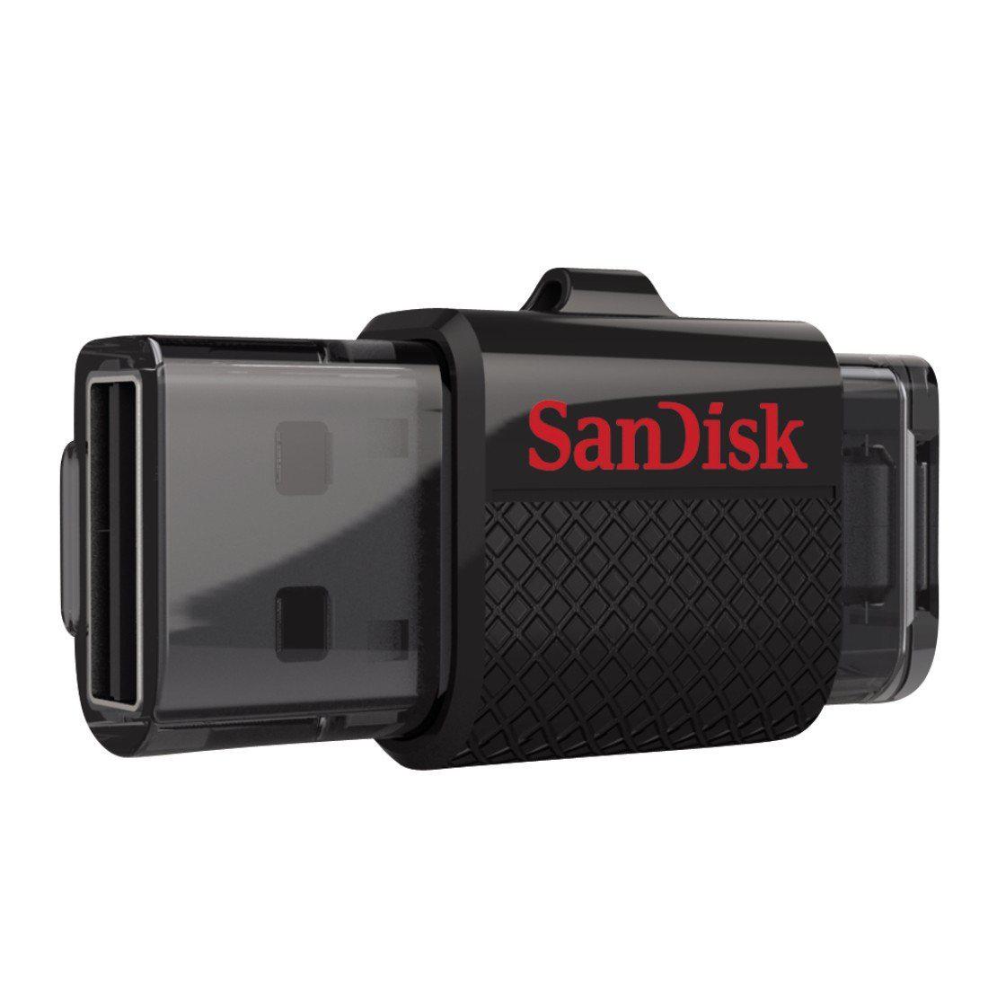 Clé USB/micro-USB OTG 2.0 SanDisk Dual Drive 64Go