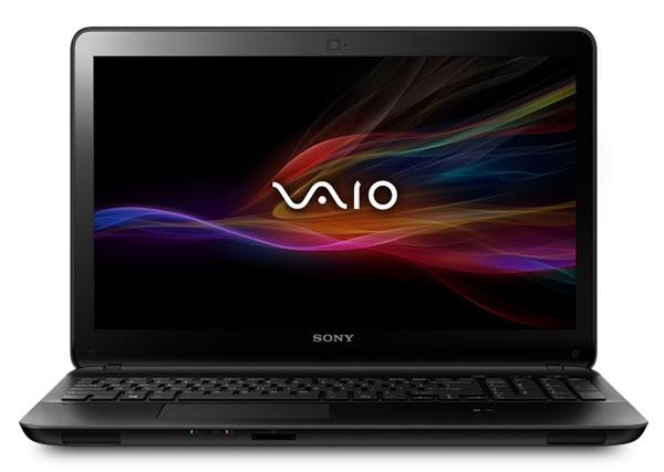 """PC portable Sony Vaio SVF1521A7EB.FR5: 15,5"""", Pentium 2117U (1,8 GHz), 500 Go, RAM 4 Go"""