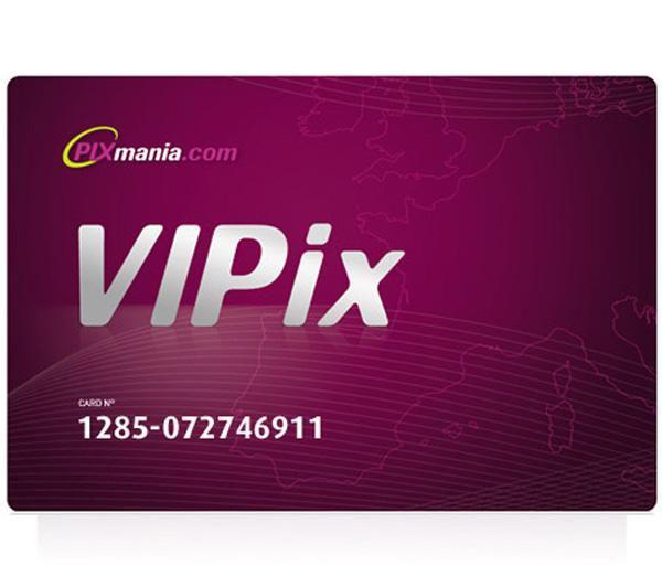 Carte de fidélité VIPix (1 An)