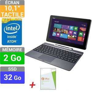 Tablette hybride Asus T100 32Go + Office Home & Student 2013 + Carte Cadeau Windows Store 25€