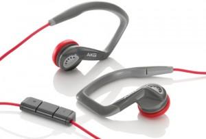 Écouteurs de sport intra-auriculaires AKG K326 Rouge