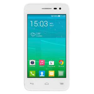 Smartphone Alcatel One Touch POP S3 (blanc) - 4G