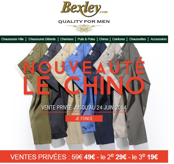 Pantalon Chino 100% Coton - Coupe ajustée ou standard