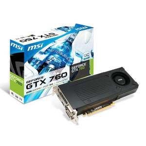 Carte graphique MSI GeForce GTX 760 2 Go + Watch Dogs offert