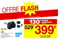 Pack Appareil photo Reflex Nikon D3100 + Objectifs DX 18-55mm + DX 55-200mm II + Sacoche + Carte SD 8Go