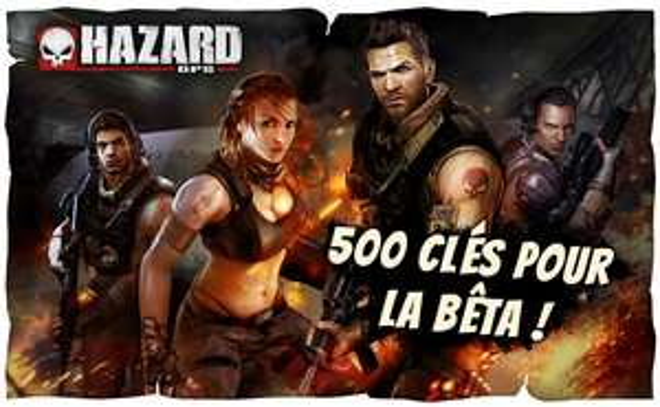 Clé pour la beta d'Hazard Ops sur PC (200 restantes)
