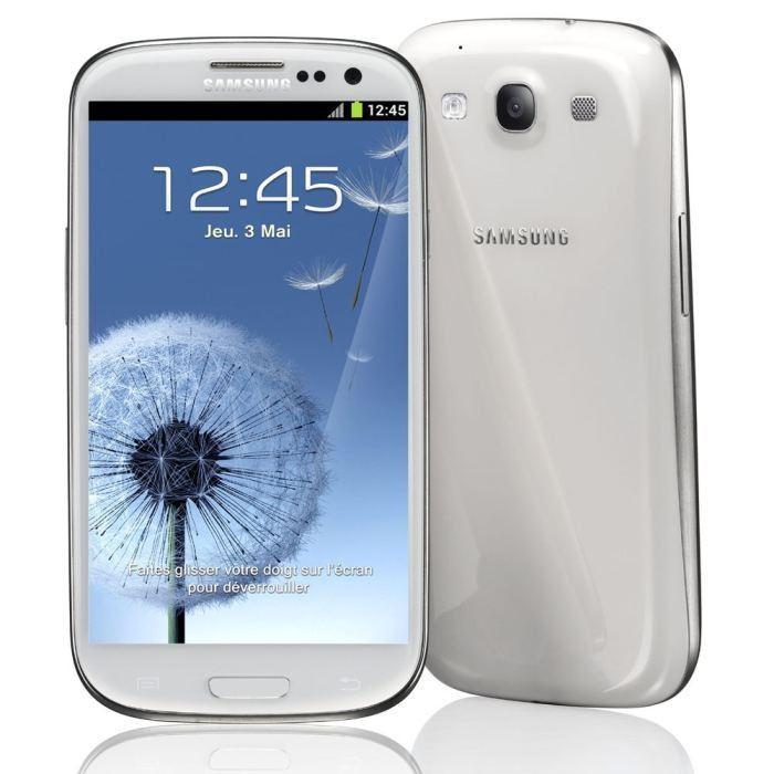 Smartphone Samsung Galaxy S3 16Go (avec ODR 30€)