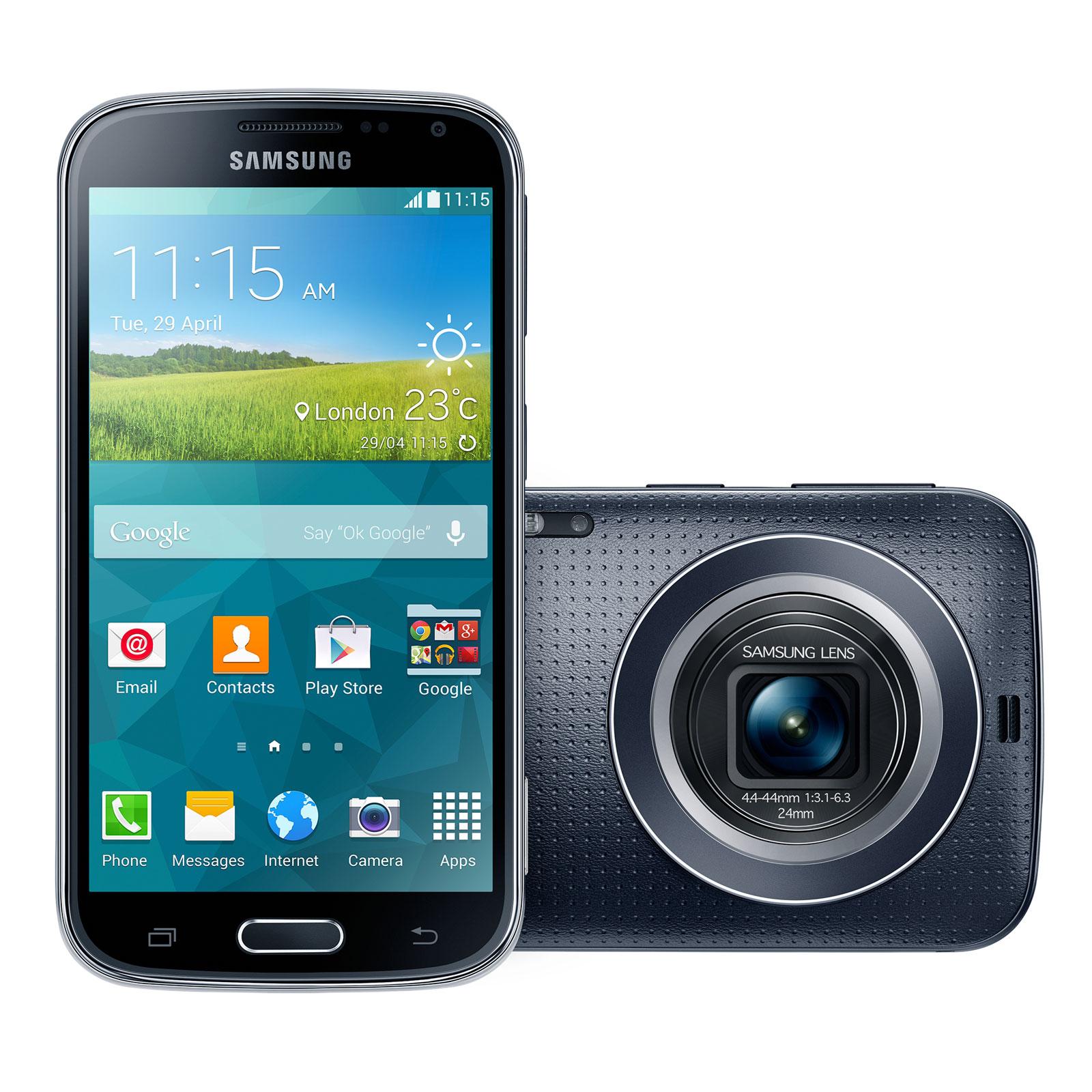 Smartphone Samsung Galaxy K Zoom - Blanc ou noir