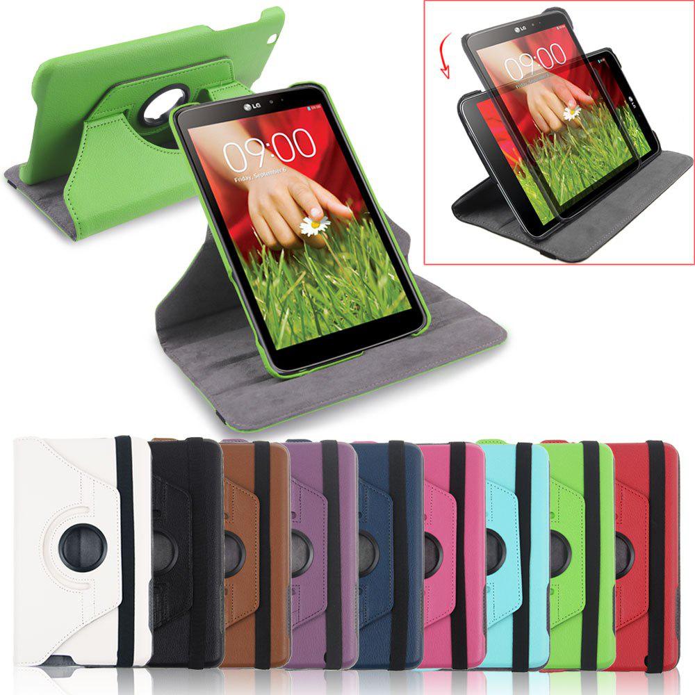 Housse rotative pour tablette LG G Pad 8.3 - 9 couleurs au choix