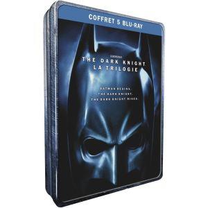 Coffret Blu-ray Batman / Nolan : Batman begins ; the dark knight ; the dark knight rises