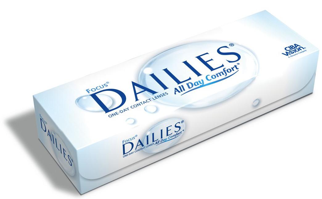 Jusqu'à 80€ en bons d'achat sur lentilles de contact Dailies