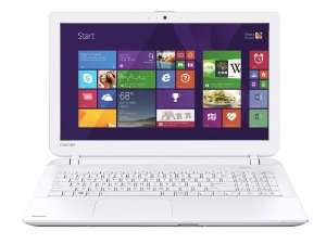 "PC portable Toshiba 15.6"" Blanc Core i3, 8 Go, 1 To"