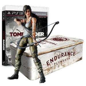Tomb Raider Edition Collector Deluxe sur PS3 et Xbox360