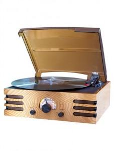 Platine disque (33, 45, 78 tours) radio  (AM/FM)