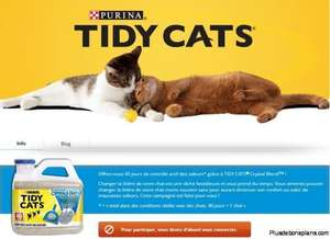 Litière Crystals Blend Tidy Cats purina 6,35kg