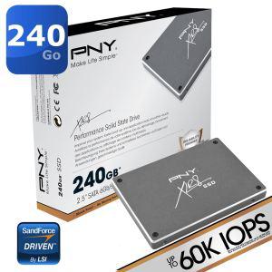 """SSD 2.5"""" PNY 240Go XLR8"""