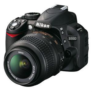 Appareil photo Nikon D3100 + AF-S DX 18-55 VR Reflex