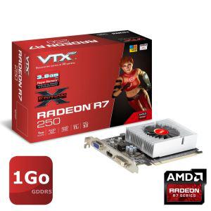 Carte graphique VTX3D Radeon R7 250 1Go GDDR5 X-Edition