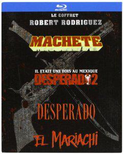 Coffret Blu-ray Robert Rodriguez -  Machette + El Mariachi + Desperado + Desperado 2