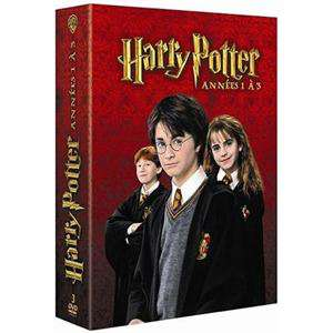 Coffret 3 DVD Harry Potter (Vol. 1 à 3)
