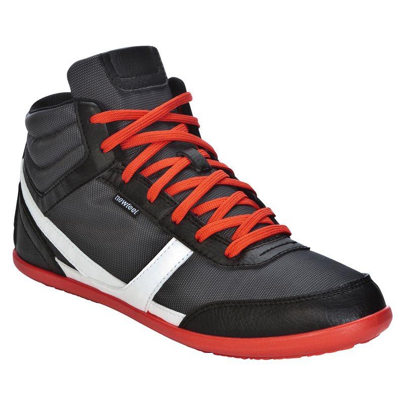 Chaussures montantes Newfeel - Gris foncé/Rouge, Gris/Marron ou Gris/Noir