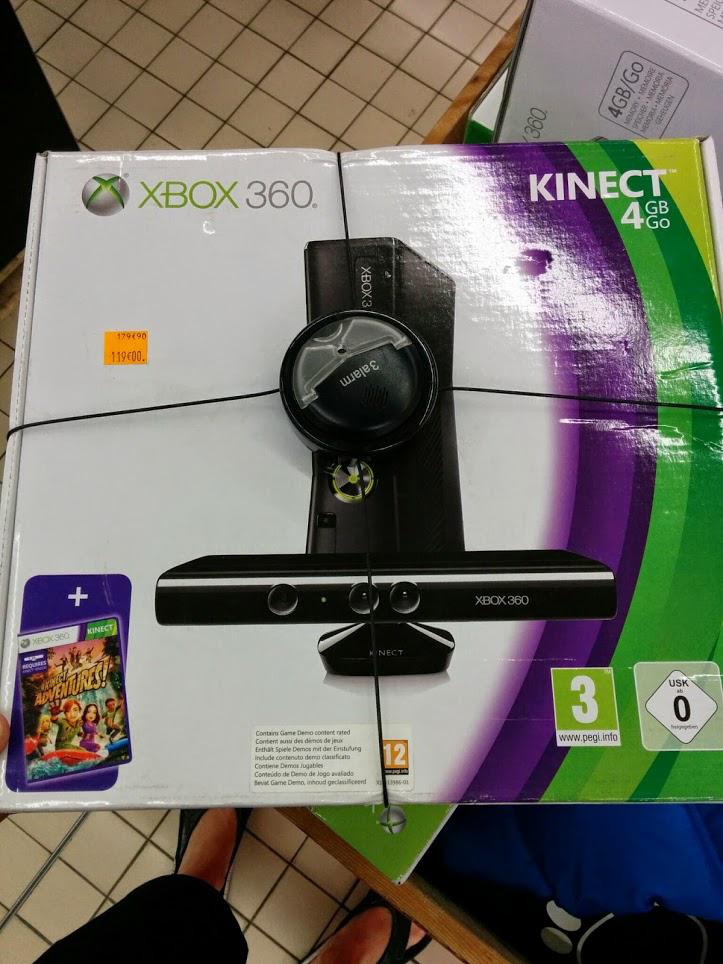 Sélection d'articles jeux vidéos en soldes  - Ex : Console Xbox 360 4Go + Kinect
