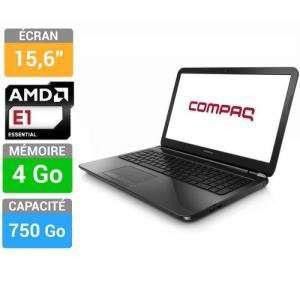 "PC Portable 15"" HP Compaq 15-h002sf (750 Go HDD, 4 Go RAM)"