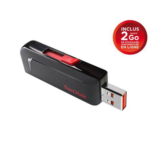 Clef USB Sandisk - Cruzer SLICE - 32Go USB 2.0