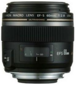 Objectif Canon EF-S 60mm f2.8 Micro USM (dont ODR de 50€)