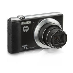 Appareil photo HP P550 Compact Noir - 16 MP, Zoom 12.5x