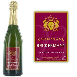 Champagne Grande Réserve Beckermann 75cl