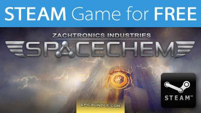 SpaceChem gratuit sur PC/Mac/Linux (Steam)